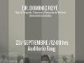 afiche Dominic Roye