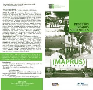 maprus propuesta marzo