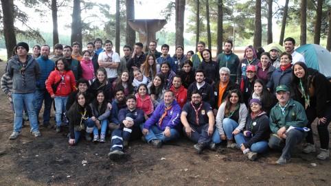 Capacitación de voluntarios en Yumbel