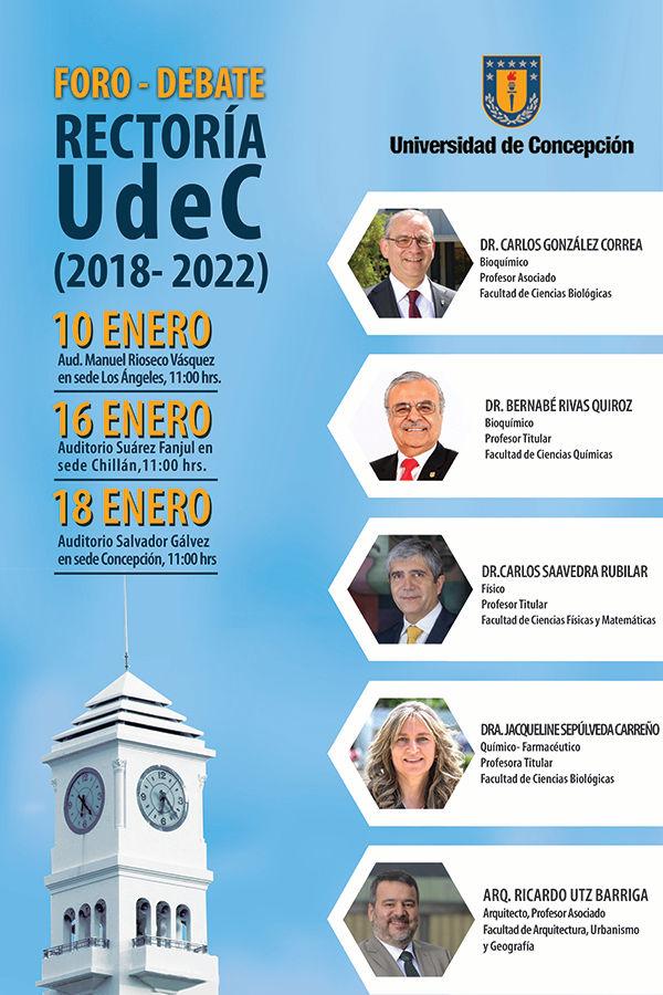AficheDebatesRectoriaUdeC2018