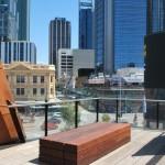 Fotografía 9: Vista desde el mismo mirador hacia el sector financiero de la ciudad