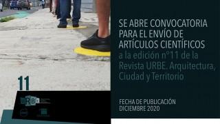 convocatoria 11 y web URBE REVISTA