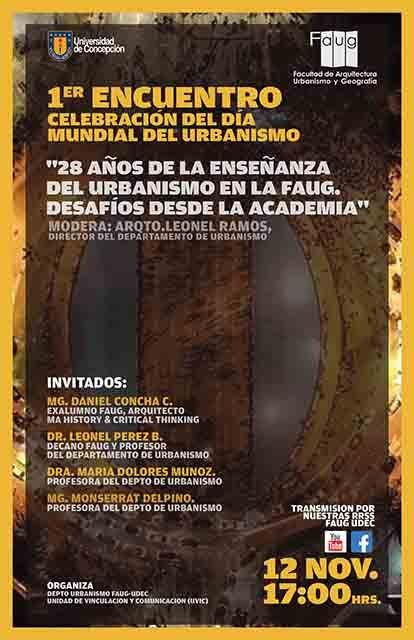charla dia del urbanismo