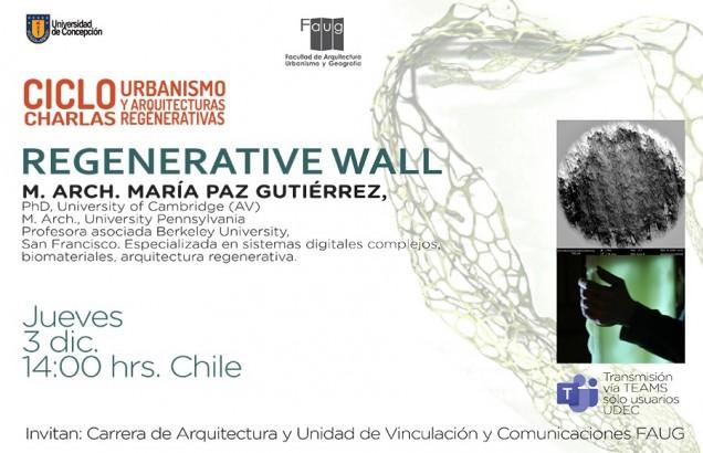 charla regenrative wall 14hrs